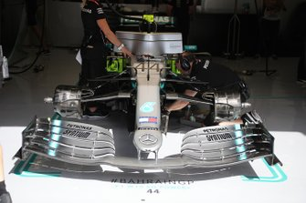 Mercedes AMG F1 front nose technical detail