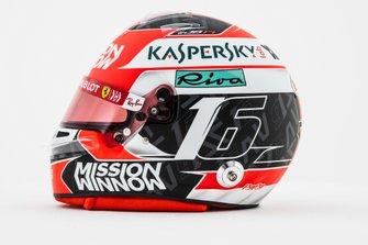 Casco di Charles Leclerc, Ferrari