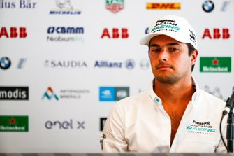 Nelson Piquet Jr., Panasonic Jaguar Racing, in conferenza stampa