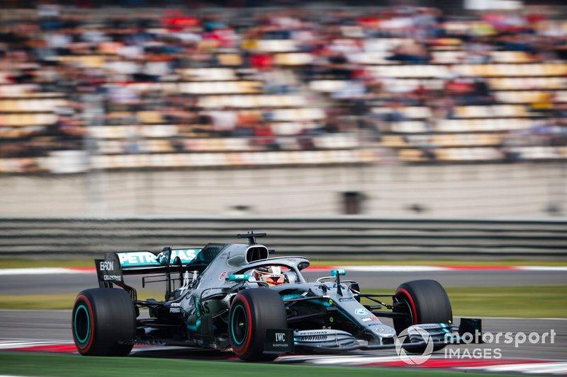 Lewis Hamilton, Mercedes AMG F1 W10: 1:31.570
