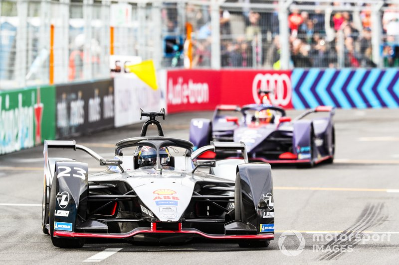 Sébastien Buemi, Nissan e.dams, Nissan IMO1, Robin Frijns, Envision Virgin Racing, Audi e-tron FE05