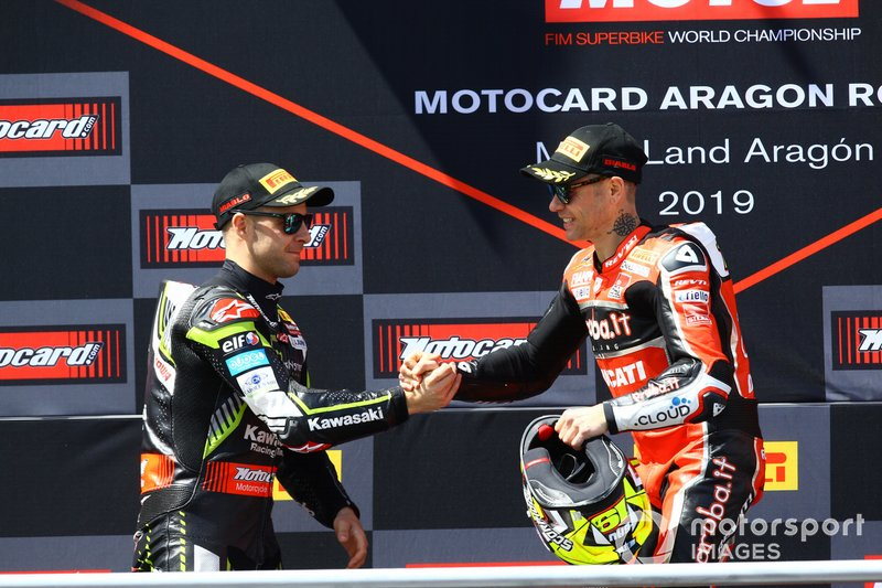 Jonathan Rea, Kawasaki Racing, Alvaro Bautista, Aruba.it Racing-Ducati Team