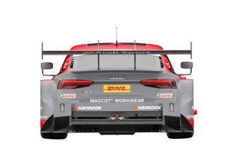 Rendering della livrea di Loic Duval, Audi Sport Team Phoenix, Audi RS 5 DTM