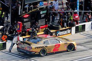 Tyler Reddick, Richard Childress Racing, Chevrolet Camaro Pinnacle Financial Partners pit stop
