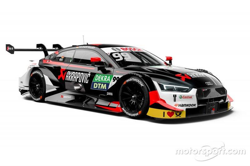 Автомобиль Audi RS5 DTM Майка Роккенфеллера