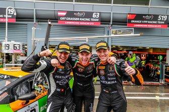 Polesitter: #63 GRT Grasser Racing Team Lamborghini Huracan GT3 Evo: Mirko Bortolotti, Rolf Ineichen, Christian Engelhart