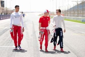 Sean Gelael,PREMA RACING Mick Schumacher, PREMA RACING and Callum Ilott, SAUBER JUNIOR TEAM BY CHAROUZ