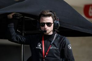 Le patron de l'équipe de Colton Herta, Harding Steinbrenner Racing Honda, George Michael Steinbrenner