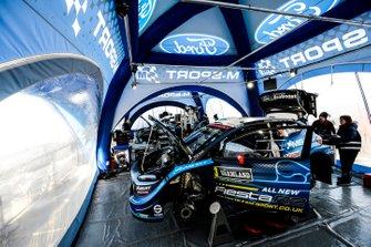 M-Sport Ford Fiesta team area