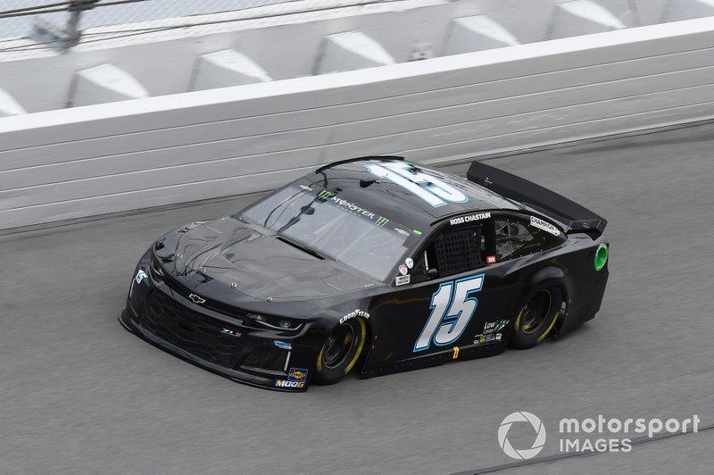 #15: Ross Chastain, Premium Motorsports, Chevrolet Camaro