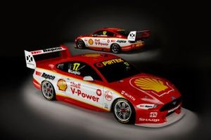 Shell V-Power Racing Team renk düzeni