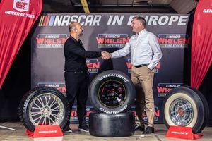 Jerome Galpin, NASCAR Euroseries Başkanı ve Guy Frobisher