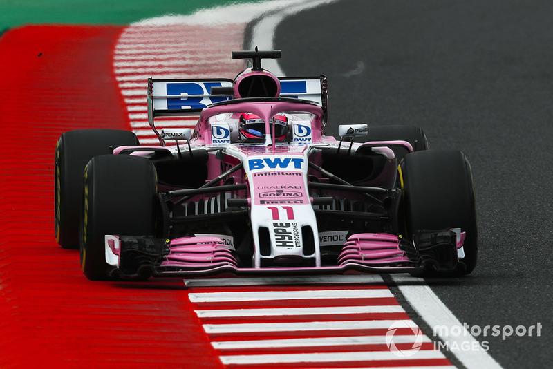 9: Sergio Pérez, Racing Point Force India VJM11, 1:37.229
