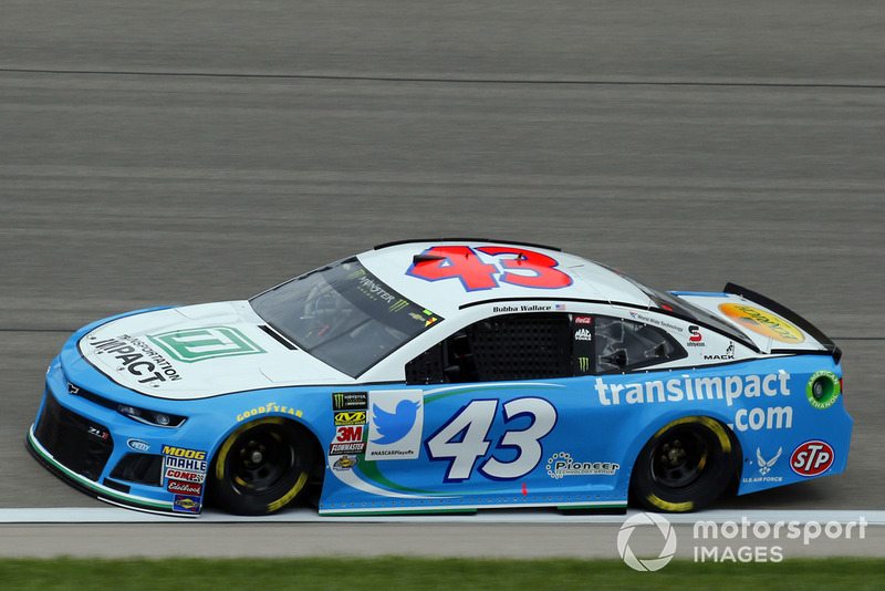 29. Darrell Wallace Jr., Richard Petty Motorsports, Chevrolet Camaro Transportation Impact
