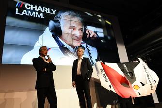Charly Lamm avec Jens Marquardt, le directeur de BMW Motorsport
