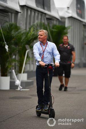 Johnny Herbert, Sky TV on a scooter