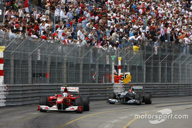 Gran Premio de Mónaco 2010, OTRO ROCE CON ALONSO