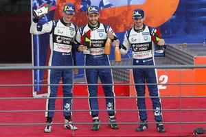 Podium: #7 Ecurie Ecosse / Nielsen Ligier JS P3 - Nissan: Colin Noble, Alex Kapadia, Christian Stubbe Olsen
