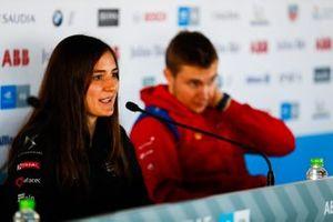 Tatiana Calderon, DS TECHEETAH, in the press conference