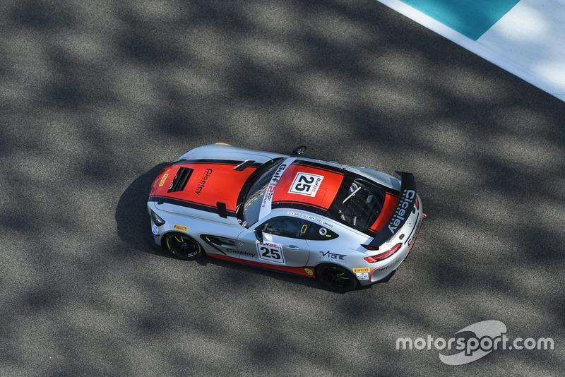#25 Ciceley Motorsport Mercedes AMG GT4: Jordan Witt, Frank Bird, Issam Charouf