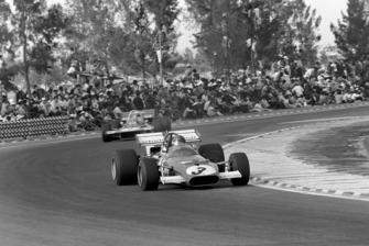 Winner Jacky Ickx, Ferrari 312B, Jackie Stewart, Tyrrell 001