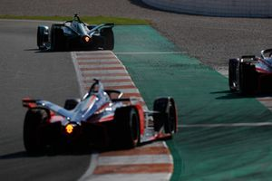 Nelson Piquet Jr., Jaguar Racing, I-Type 3, Jérôme d'Ambrosio, Mahindra Racing, M5 Electro, Pascal Wehrlein, Mahindra Racing, M5 Electro