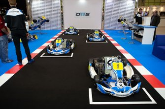 The Daniel Ricciardo karting stand