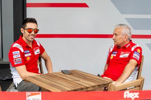 Michele Pirro, Ducati team, Davide Tardozzi, Team manager Ducati Team
