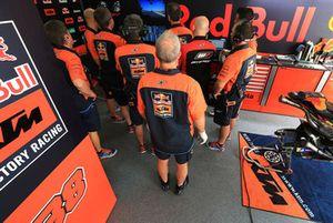 Miembros de Red Bull KTM Factory Racing team