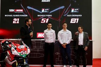 Michele Pirro, Alex Bernardi e Marco Barnabò, Team Principal Barni Racing Team