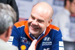 Andrea Adamo, Team Director of Hyundai Motorsport