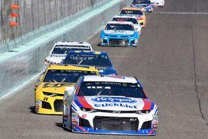 A.J. Allmendinger, JTG Daugherty Racing, Chevrolet Camaro Kroger ClickList, William Byron, Hendrick Motorsports, Chevrolet Camaro Hertz
