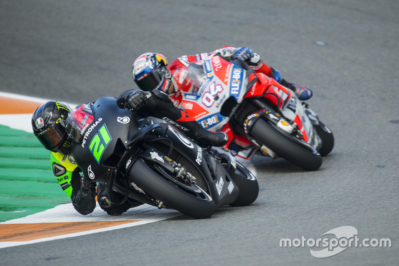 Franco Morbidelli, Petronas Yamaha SRT, Andrea Dovizioso, Ducati Team