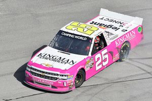 Yarış galibi Timothy Peters, GMS Racing, Chevrolet Silverado Kingman Chevrolet