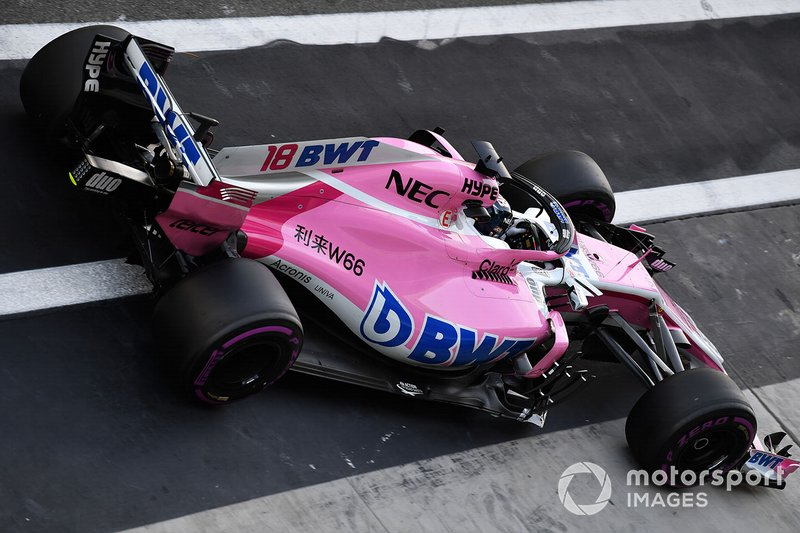 Лэнс Стролл, Racing Point Force India F1 VJM11
