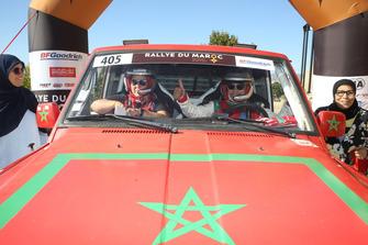 #405 Mouktadiri Racing Team Nissan: Souad Mouktadiri, Hend Chaouch