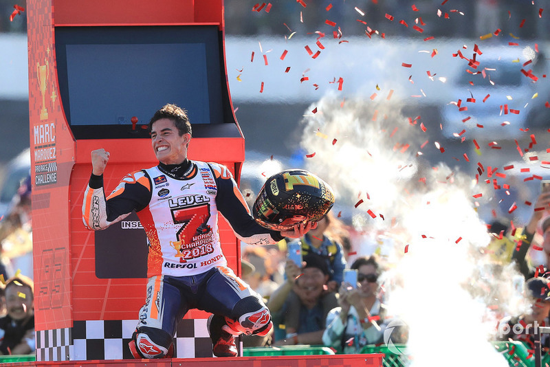#Level7 compleet, Marquez in de recordboeken