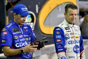 A.J. Allmendinger, JTG Daugherty Racing, Chevrolet Camaro Kroger ClickList and Trent Owens