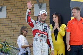 Podio: tercer puesto Mike Rockenfeller, Audi Sport Team Phoenix