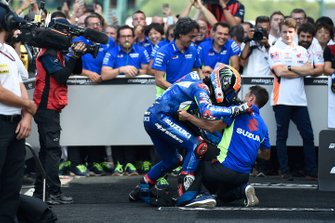 Race winner Alex Rins, Team Suzuki MotoGP