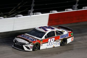 Kyle Busch, Joe Gibbs Racing, Toyota Camry Snickers Throwback
