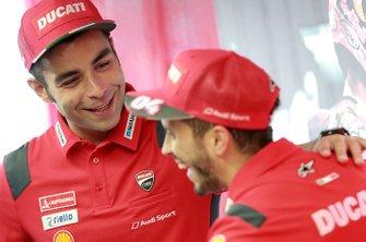 Гонщики Ducati Team Данило Петруччи и Андреа Довициозо