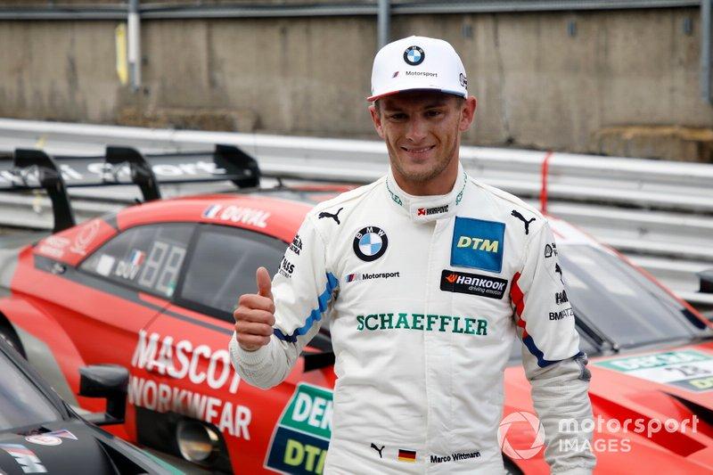 Pole sitter Marco Wittmann, BMW Team RMG