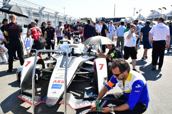 Jose Maria Lopez's, GEOX Dragon Racing, Penske EV-3 on the grid
