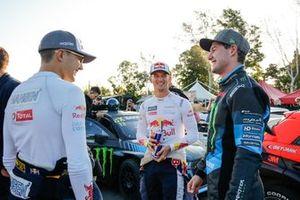 Timmy Hansen, Team Hansen MJP, Kevin Hansen, Team Hansen MJP, Andreas Bakkerud, Monster Energy RX Cartel