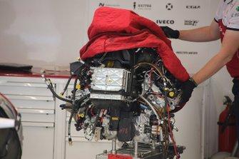 Alfa Romeo Racing C38 motor detail