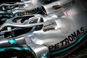 Car of Lewis Hamilton, Mercedes AMG F1 W10 and Valtteri Bottas, Mercedes AMG W10