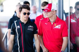 Mick Schumacher, Prema Racing e Nyck De Vries, ART Grand Prix