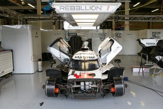 #1 Rebellion Racing - Rebellion R13 - Gibson: Bruno Senna, Gustavo Menezes, Norman Nato