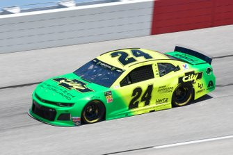William Byron, Hendrick Motorsports, Chevrolet Camaro Hendrick Autoguard/City Chevrolet Throwback
